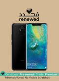 Renewed - Mate 20 Pro Dual SIM Black 128GB 6GB RAM 4G LTE