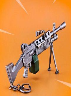 Orange Lmg Fortnite Shop Generic Fortnite Mk60 Light Machine Gun Model Keychain Grey Online In Dubai Abu Dhabi And All Uae